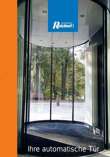 Ihre automatische Tür - Türautomation Reichert GmbH