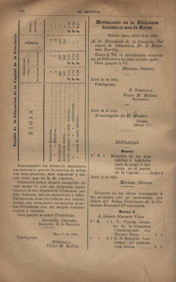 Movimiento de la. Biblioteca. - Repositorio Institucional del ...