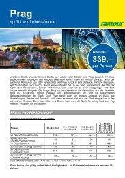2+ Stern Hotel in Prag ab CHF 339. - Frantour
