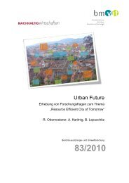 Urban Future Endbericht BMVIT.pdf - Ressourcen Management ...