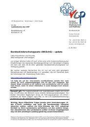 Bundeskinderschutzgesetz (BKiSchG) - update - VCP - Verband ...