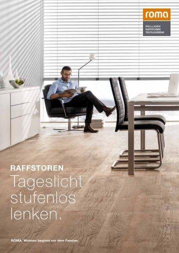 Download Raffstoren Produktbroschüre - Roma