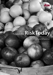 Risk Today Herbst Ausschuss:Layout 1.qxd - Aon