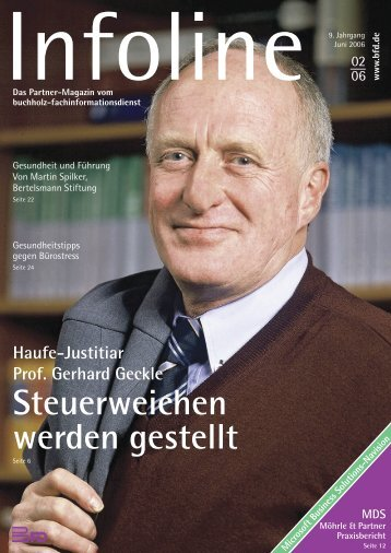 Steuerweichen werden gestellt - BFD Buchholz ...