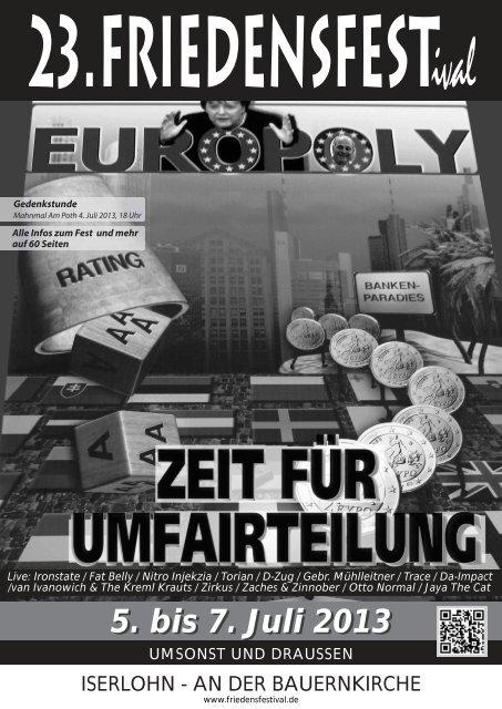 Die Festzeitung als PDF-Download - Friedensfestival Iserlohn