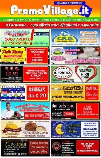Promovillage Febbraio 2014