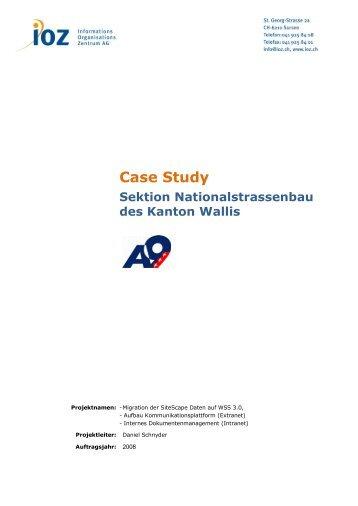 Case Study als PDF herunterladen - IOZ AG