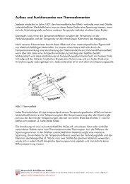 Aufbau und Funktionsweise von Thermoelementen - MTS ...
