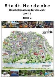 HH-Satzung 2013 Band 2 - Stadt Herdecke