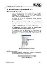 5.14 Analogausgangsmodul 4-fach EAO 4UI - ELKA-Elektronik GmbH