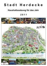 HH-Satzung 2011 - Stadt Herdecke
