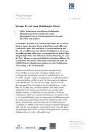 Pressetext herunterladen (PDF, 111 KB) - ZF Friedrichshafen AG