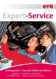 GTÜ Expert-Service 1/2013
