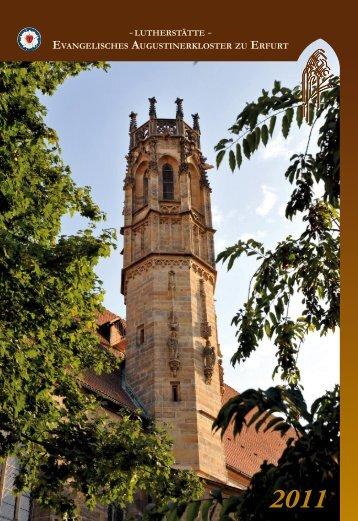 Lothar Schmelz - Evangelisches Augustinerkloster zu Erfurt