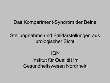 Stellungnahme und Falldarstellungen aus urologischer Sicht (PDF ...