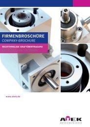 FiRMEnBROSchüRE - ATEK - Antriebstechnik