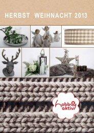 Katalog Herbst/Weihnacht 2013 - Hobby Aktiv