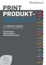 Print-Produktübersicht (7,9 MB) Das komplette Angebot für Ihre ...