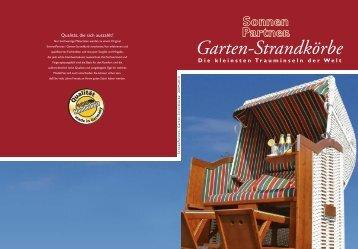 Garten-Strandkörbe