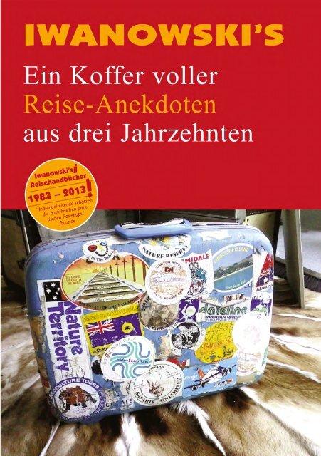 Reise-Anekdoten aus drei Jahrzehnten - Iwanowski's ...