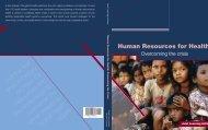Human Resources for Health - World Health Organization