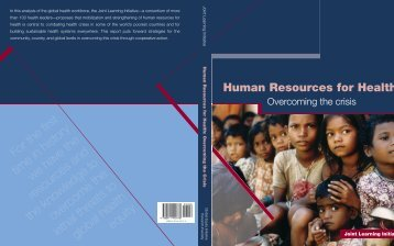 Human Resources for Health - World Health Organization