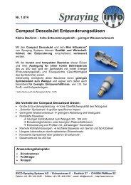 Detailinformationen als PDF - Spraying Systems Deutschland GmbH