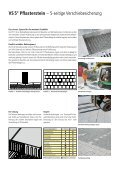 VS 5® Pflasterstein - Zeiss Neutra SA - Page 3