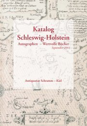Katalog Schleswig-Holstein - Antiquariat und Auktionshaus ...