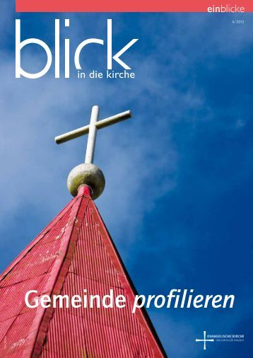 Gemeinde profilieren - Evangelische Kirche von Kurhessen-Waldeck