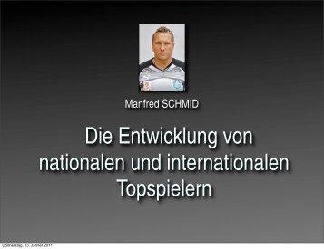 Manfred SCHMID - ÖFB
