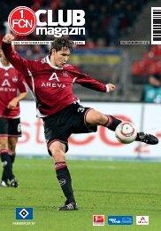 CLUBmagazin10 (Hamburg) - 1. FC Nürnberg
