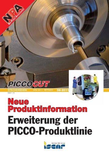 Erweiterung der PICCO-Produktlinie