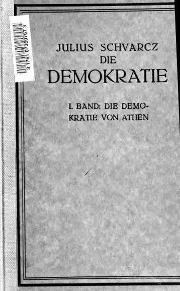 Die Demokratie von Athen