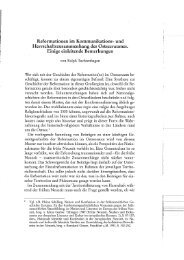 Reformationen im Kommunikations- und ...