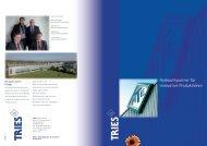 Hydraulikpartner für innovative Produktideen - Tries GmbH & Co. KG