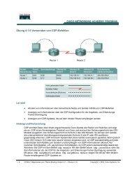 Übung 4.1.6 Verwenden von CDP-Befehlen