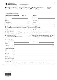 Antrag zur Auszahlung des Freizügigkeitsguthabens - Graubündner ...