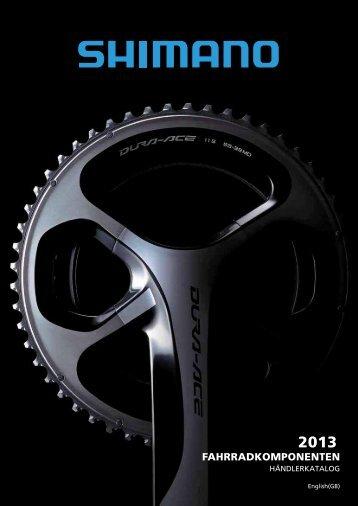 Shimano Fahrradkomponenten 2013 zum Katalog - Thalinger Lange
