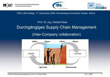 Durchgängiges Supply Chain Management - ITML