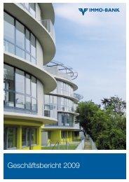Geschäftsbericht 2009 - IMMO-Bank AG