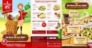 Speisekarte als PDF anzeigen - Freddy Fresh