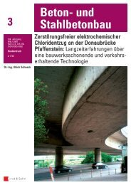 Beton- und Stahlbetonbau 3 - CITec Concrete Improvement ...