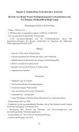 Impuls 2: Stadtumbau Gelsenkirchen Tossehof: Bericht von Birgit ...