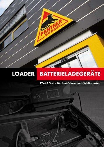 Informationen als PDF herunterladen - Panther Batterien