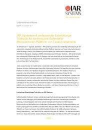 IAR Systems und Miele & Cie unterzeichnen Software-Lizenz ...