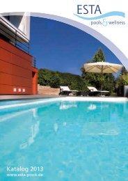 ESTA Pools & Wellness Katalog