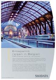 Entspannt reisen in Belgien