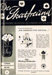 Norddeutsche Skatmeisterschaften 1957 - DSkV
