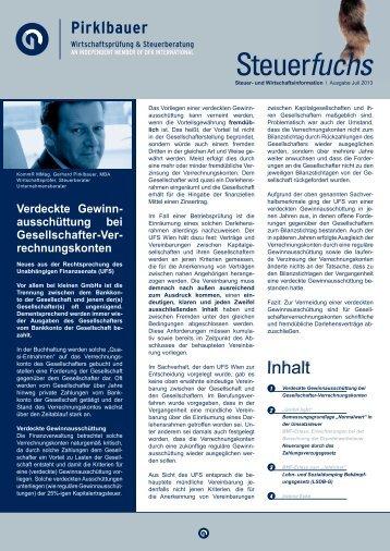 Juli 2013 - Pirklbauer Gruppe